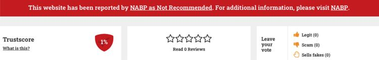 very low rating